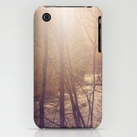 iPhone Cases featuring Forest Aglow by JMcCool