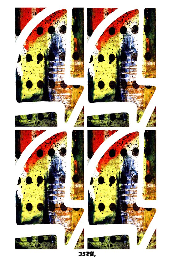x4 Art Print