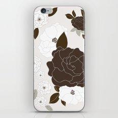 Soft Pastel Floral Print iPhone & iPod Skin