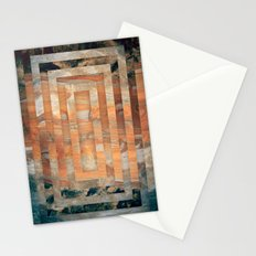 Cave abstraction Stationery Cards