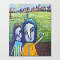 Magical Display Canvas Print