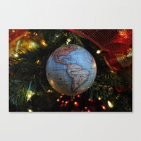 The Gift Of The World Canvas Print