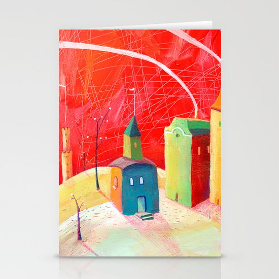 village Stationery Card