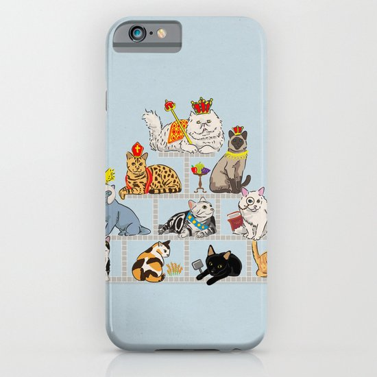 Cats Pyramid iPhone & iPod Case