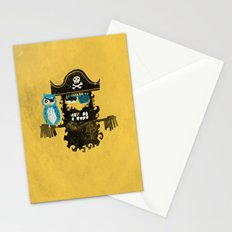 Trendy Pirate  Stationery Cards