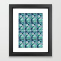 Spaced Framed Art Print