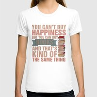 books T-shirts featuring Books by thespngames
