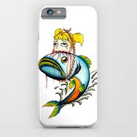 Fish with Girl Hat iPhone 6 Slim Case