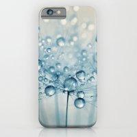 Dusky Blue Dandy Drops iPhone 6 Slim Case