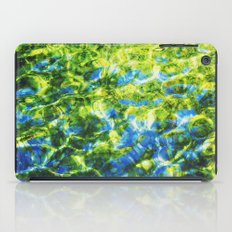 water as painting iPad Case
