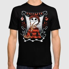 Nightmare King Mens Fitted Tee Black SMALL