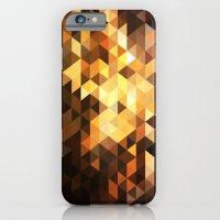 Triangle Design Chocolate iPhone 6 Slim Case
