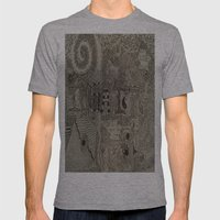 Insanity Mens Fitted Tee Athletic Grey SMALL
