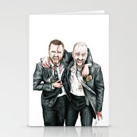 breaking bad Stationery Cards featuring Breaking Bad by 13 Styx