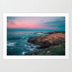 Lighthouse Of The Isla P… Art Print