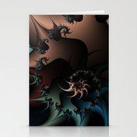 Thorned Rebellion Stationery Cards