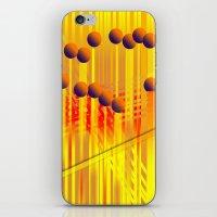 sıcak renkler iPhone & iPod Skin