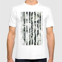 Flamingos Mens Fitted Tee White SMALL