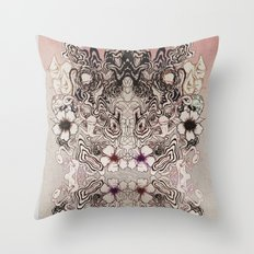 Entangled Bouquet Throw Pillow