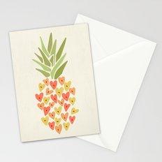 My Pineapple Valentine Stationery Cards