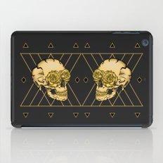 Golden Skull composition  iPad Case