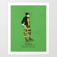 The Butch - A Poster Gui… Art Print