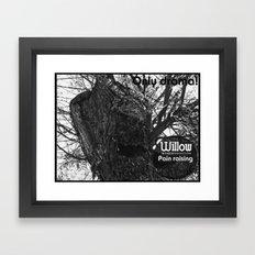 Willow 2 Framed Art Print