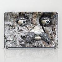 Tree Face iPad Case