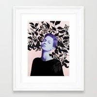 HIDING PLACE Framed Art Print