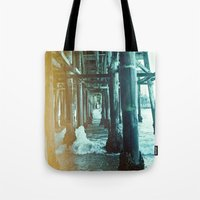 Under the Pier.  Tote Bag
