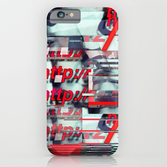 Glitch Decon 1 iPhone & iPod Case