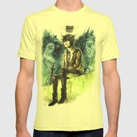 Nico Di Angelo - Son Of … Mens Fitted Tee Lemon SMALL