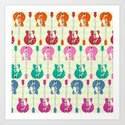 candy rock Art Print