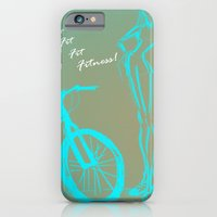 iPhone & iPod Case featuring FIT ♥ by Isabela Campagna