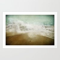 Beside the Sea I  Art Print