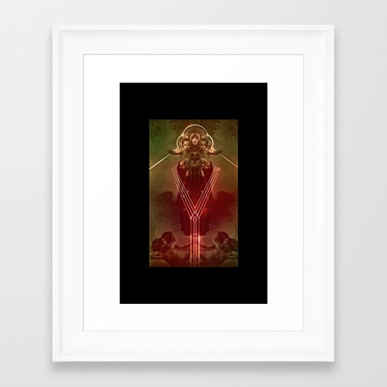 8998 Framed Art Print