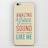 Amazing Grace iPhone & iPod Skin
