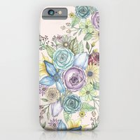 iPhone & iPod Case featuring Flowers by Annie illustrations
