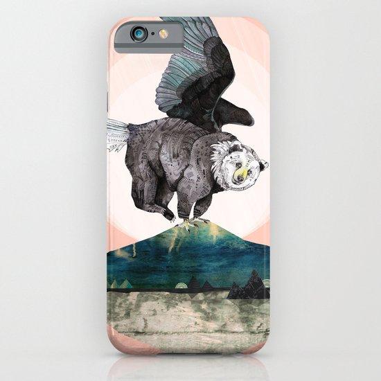 Beargle // half bear half eagle iPhone & iPod Case