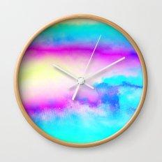 Happy Cloud III Wall Clock