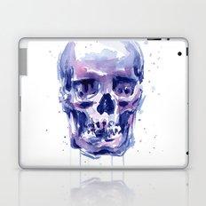 Skull Watercolor Laptop & iPad Skin