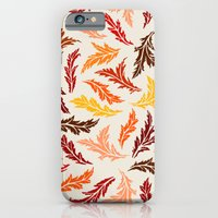 iPhone Cases featuring Colorful Leaves by Diogo Verissimo