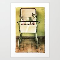 Hell O Pretty Art Print