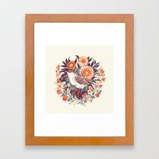 Wren Day Framed Art Print