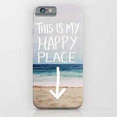My Happy Place (Beach) iPhone 6 Slim Case