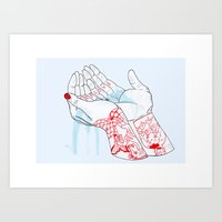 Deep Love Art Print