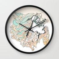 P L U M Wall Clock