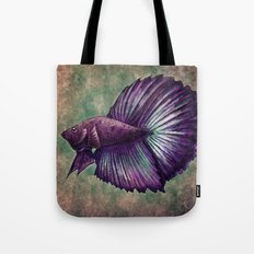 Betta Fish Tote Bag