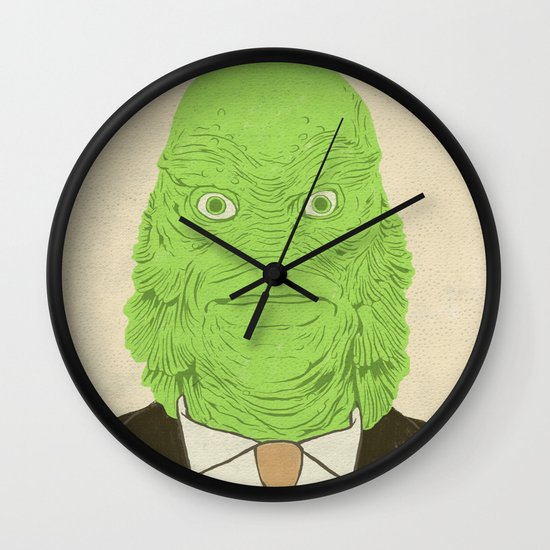 Young Professional from the Black Lagoon Wall Clock