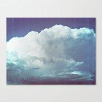 cloud mass Canvas Print